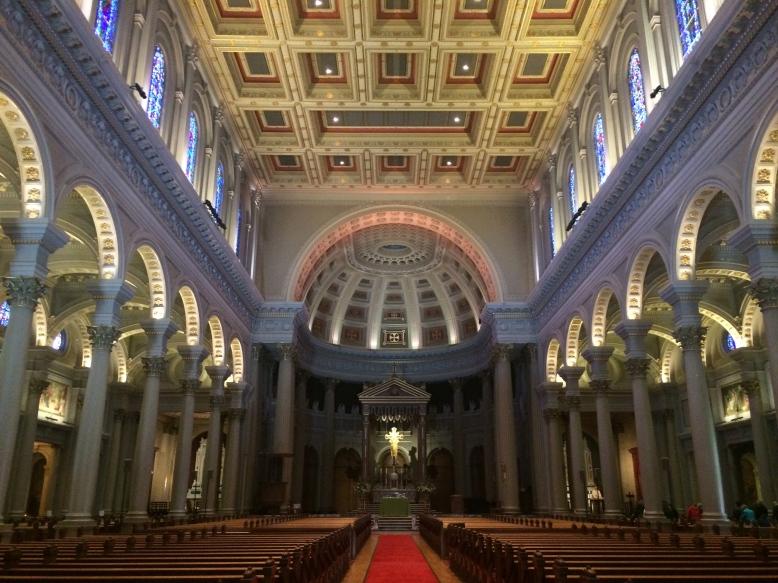 inside St. Ignatius